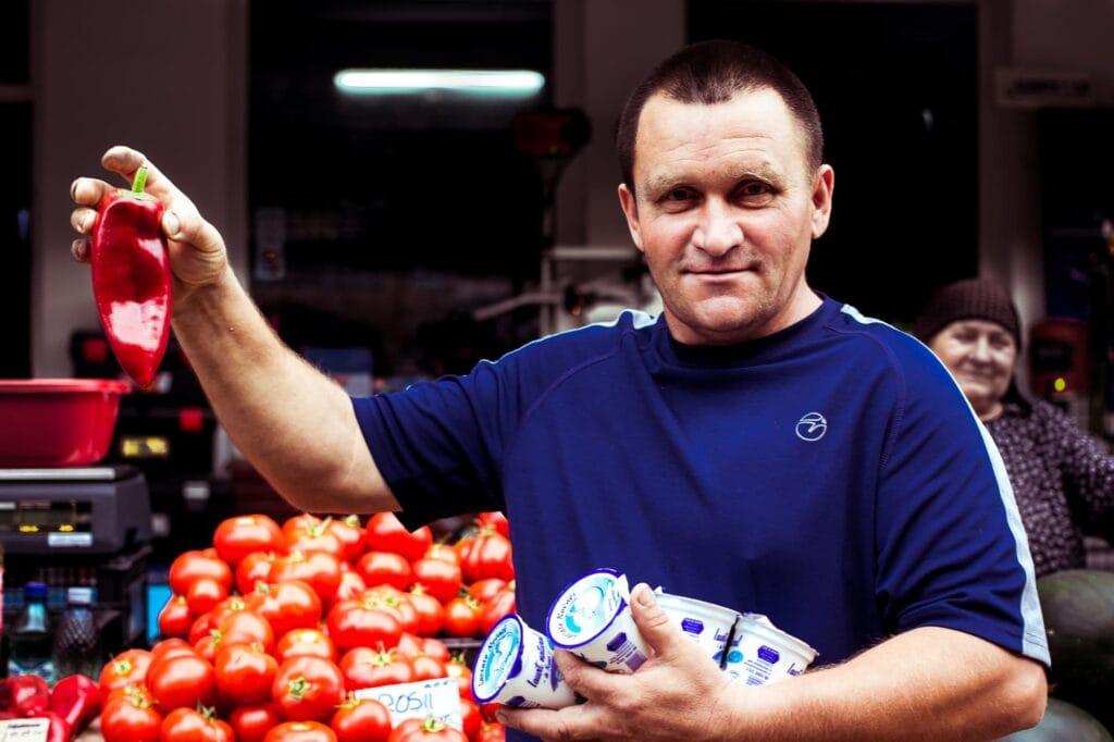 Prodavač paprik