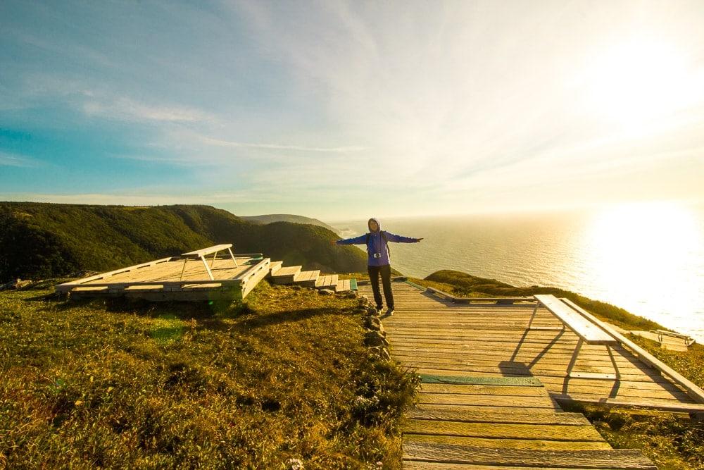 Cape Breton hikování