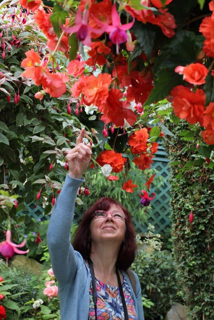 Botanická zahrada u Victorie v Kanadě