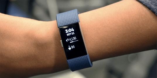 Fitbit Charge 2 na cesty