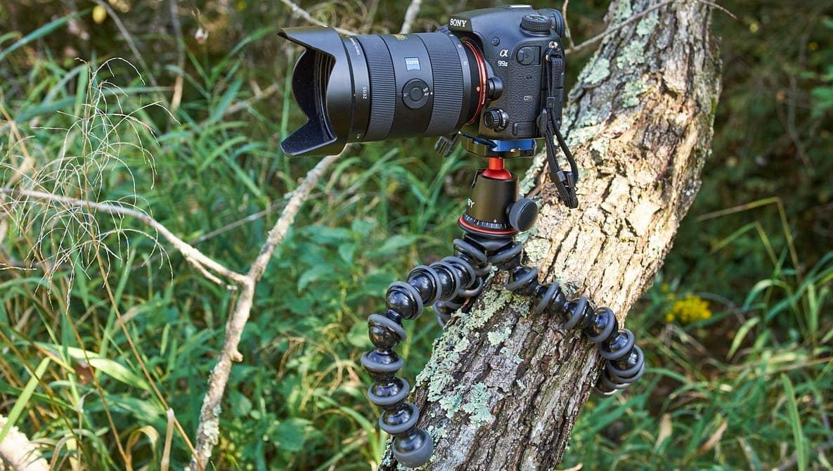 Gorillapod Joby je ideální na cestování