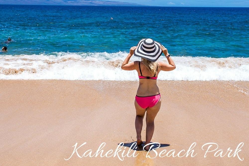 kahekili beach park maui hawaii