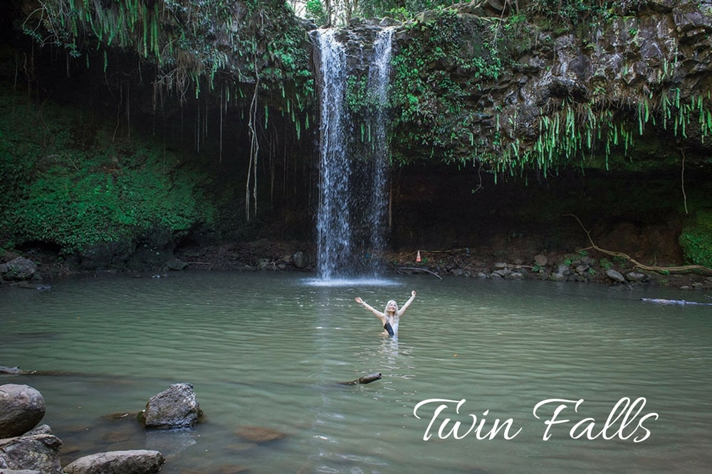 twin falls maui hawaii