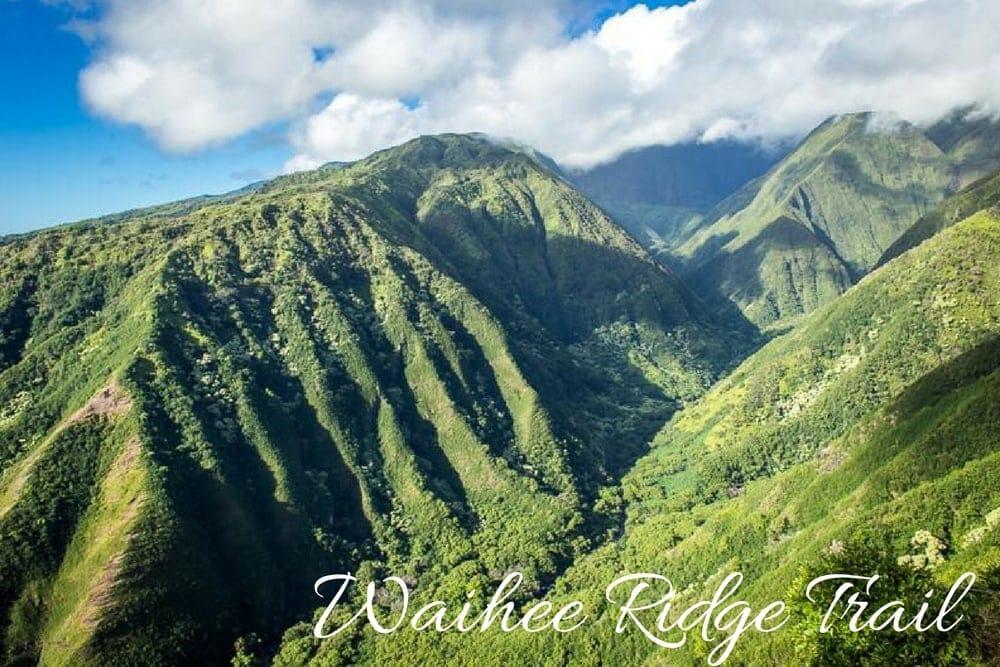 waihee ridge trail maui hawaii