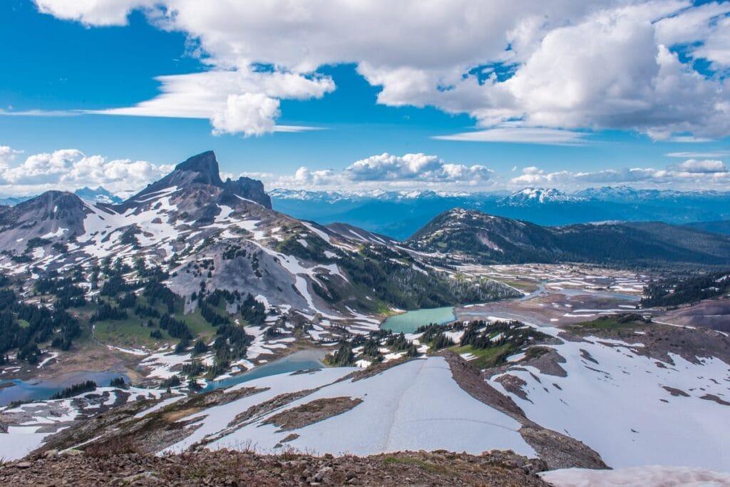 Ať se otočíte na Panorama Ridge na jakoukoliv stranu, nezapomeňte, že máte asi otevřenou pusu úžasem