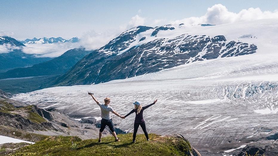 dji mavic pro exit glacier