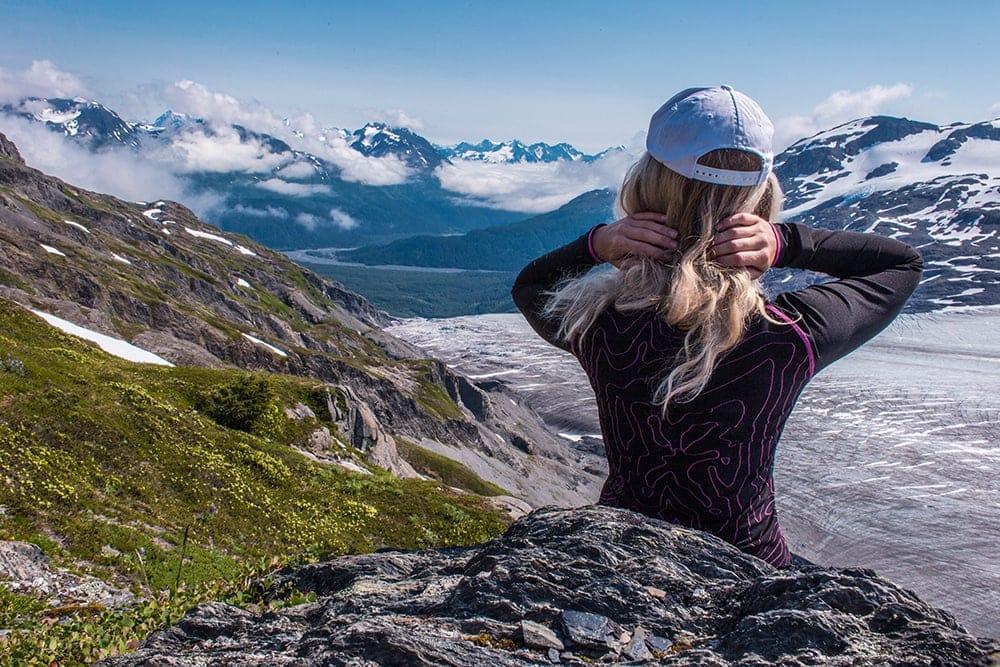 exit glacier hiking
