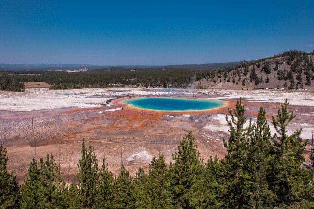 Yellowstone je turisticky přeplněné ale magické místo