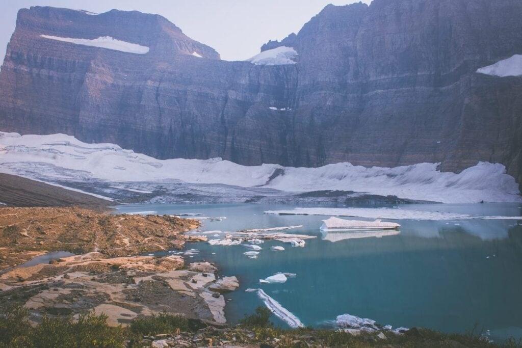 Grinnel Glacier tu za 20 let už nebude
