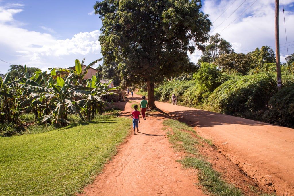 Takhle nějak jsem si představovala Ugandu, ale ukázalo se, že moje představy byly stejně omezené jako vždy
