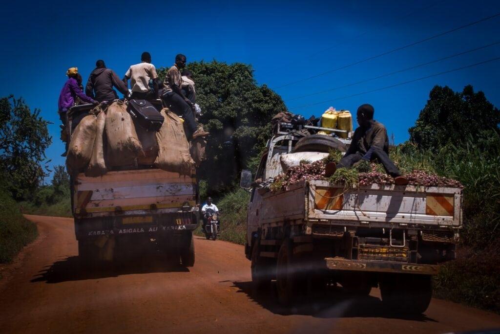 Doprava v Ugandě vám může připadat zábavná, ale je velmi nebezpečná