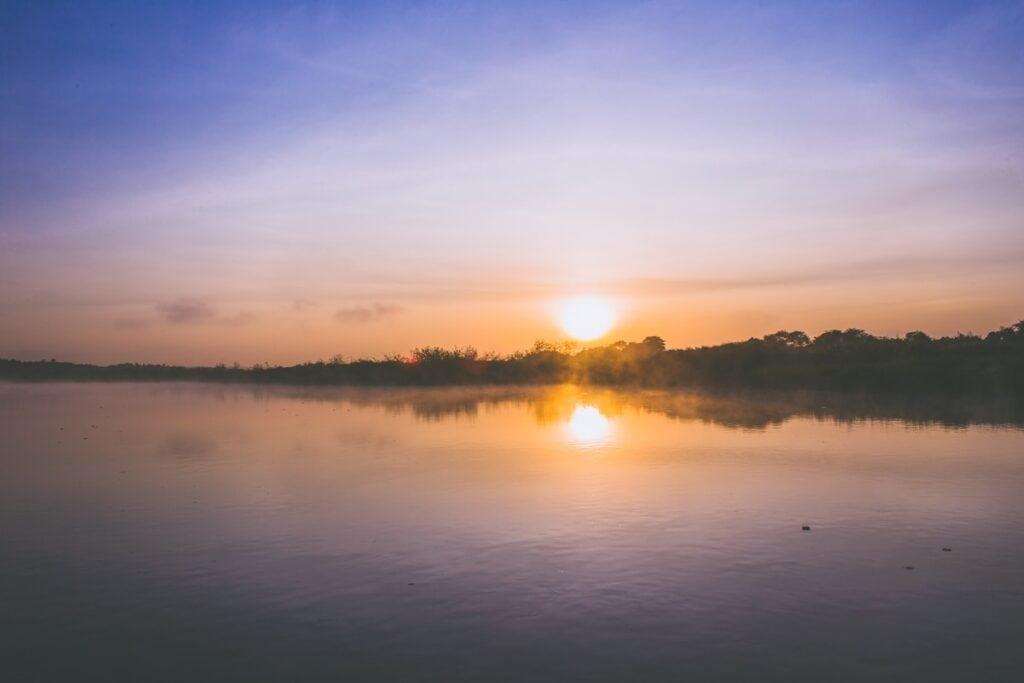 Asi není nic krásnějšího než Nil brzy ráno