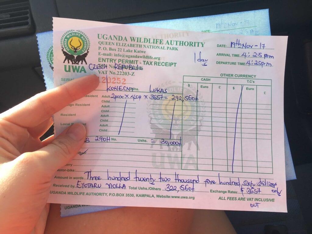 Oficiální dokumenty v Ugandě