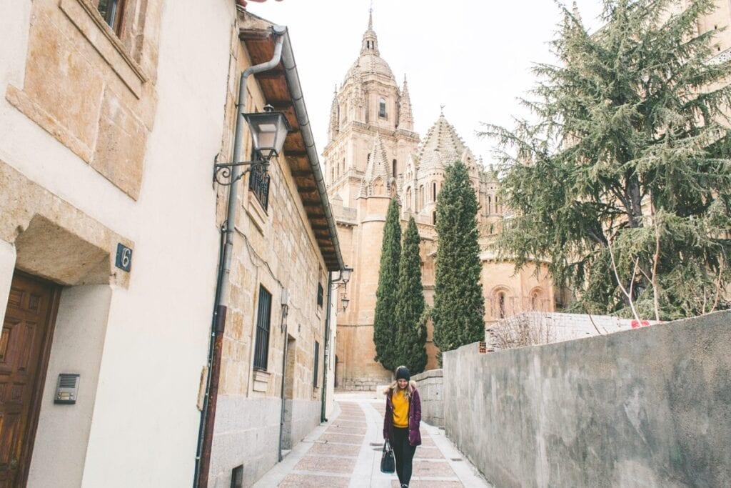 Do univerzitního města Salamanca proudí i řada českých studentů