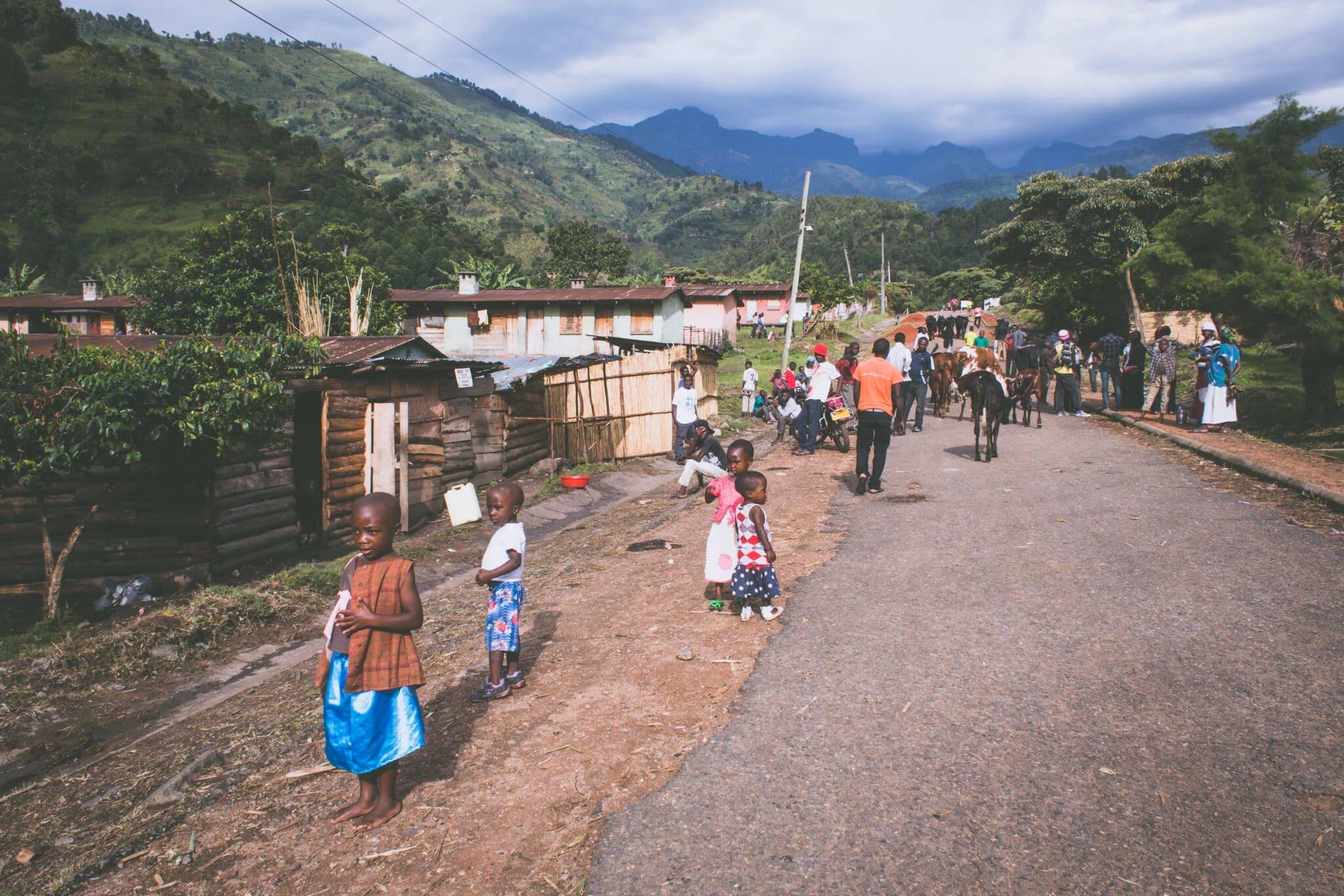 Děti v Ugandě