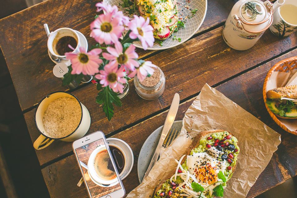 Hipster kavárna Cafefin