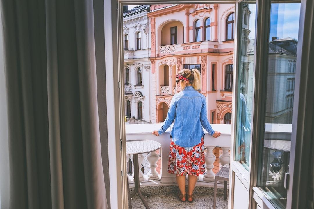 Krásný výhled na Olomouc