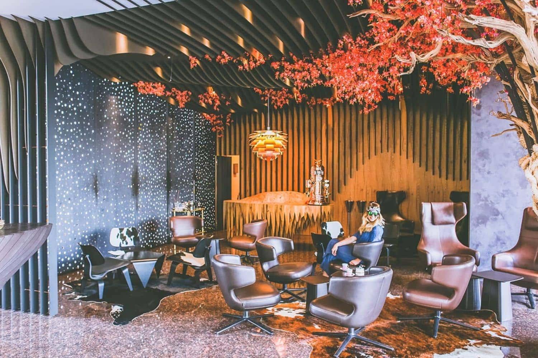Theatre Hotel lobby