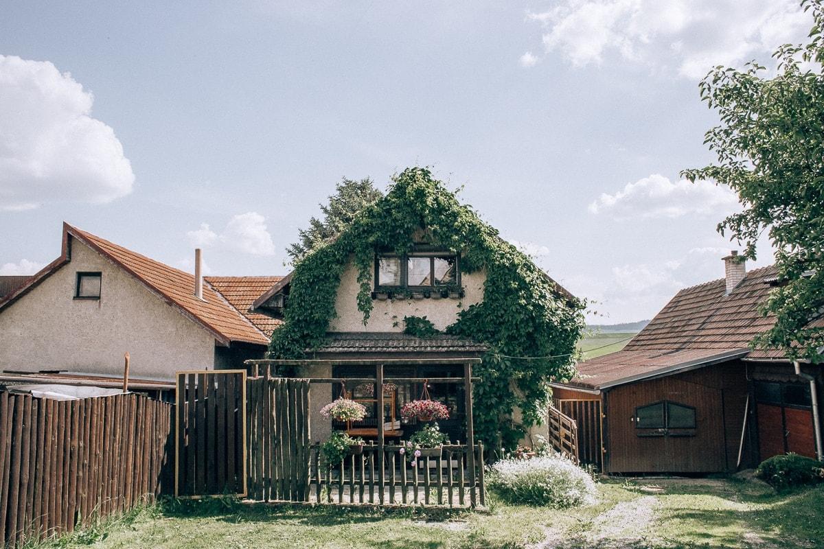 Naše ubytování v Štrbě