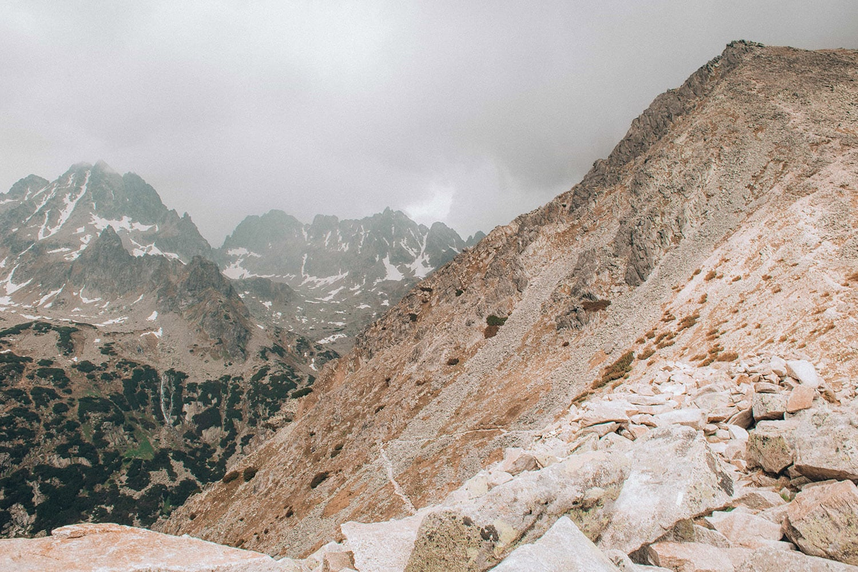 Vysoké Tatry bouřka