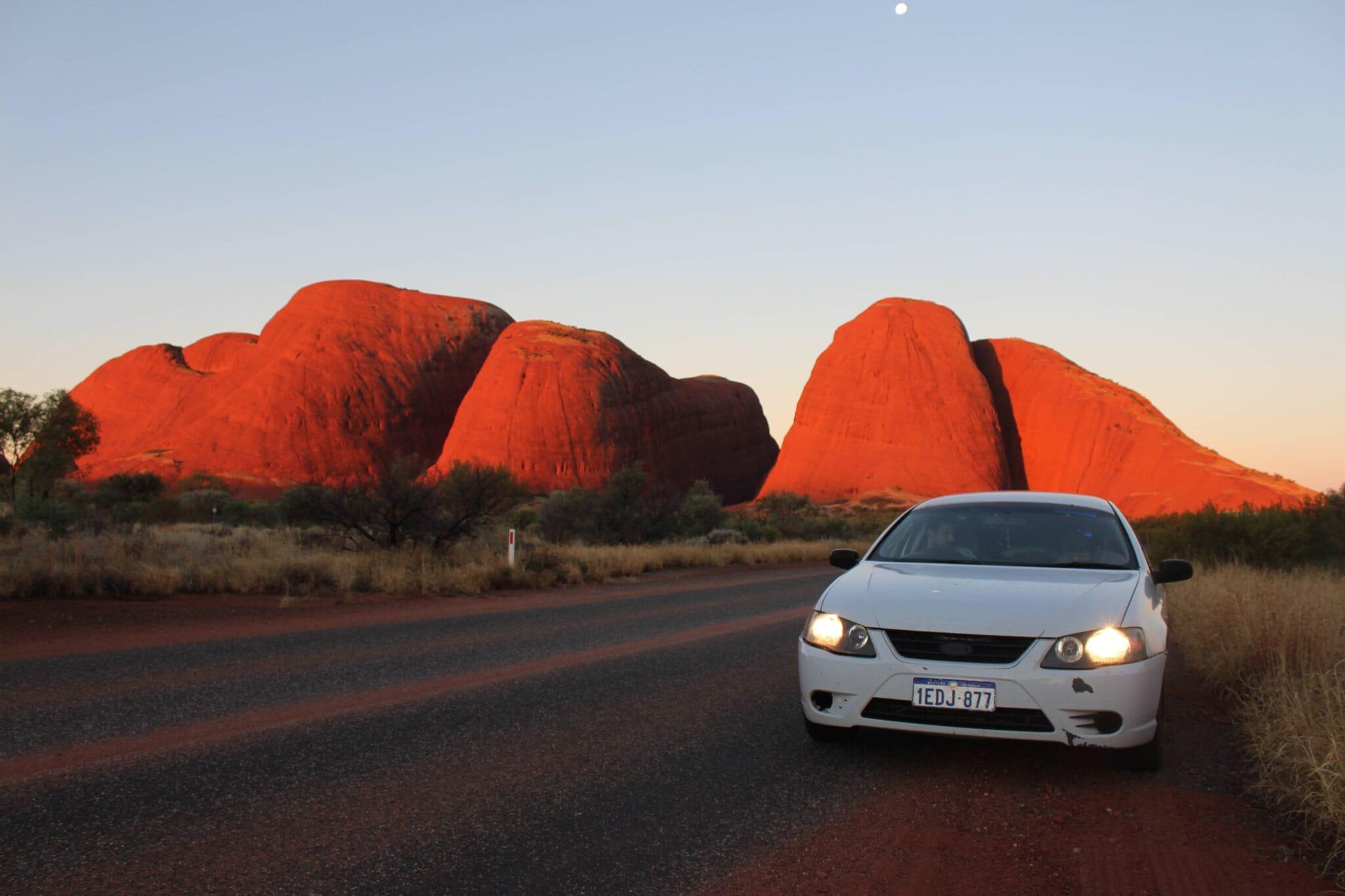 Austrálie půjčení auta