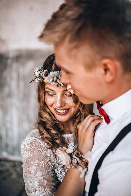 Vlastní makeup a vlasy na svatbu