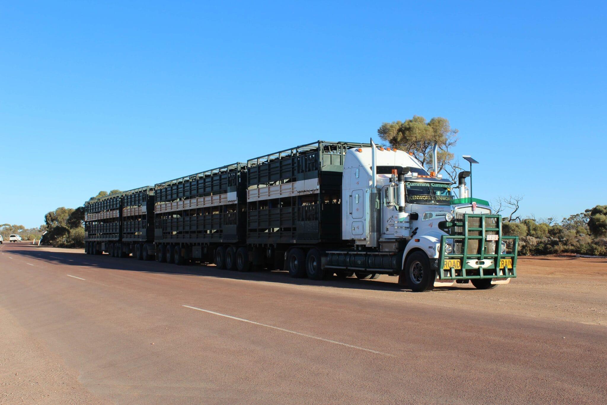 Austrálie roadtrain