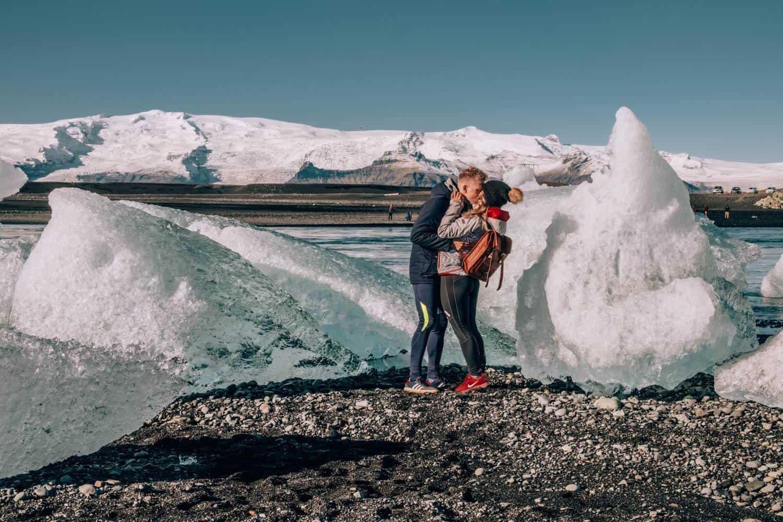 Typické počasí na Islandu