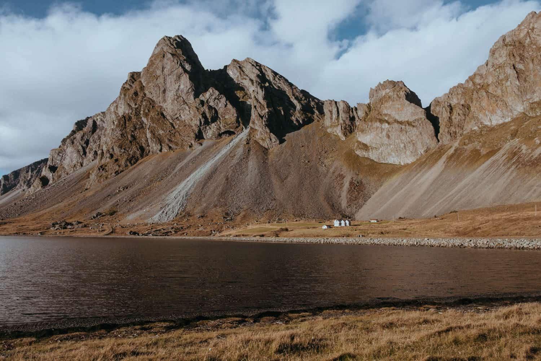 Fotogenická hora Eystrahorn