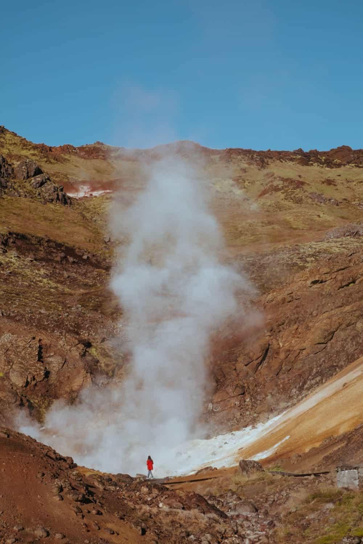 Geotermální oblast Krýsuvík