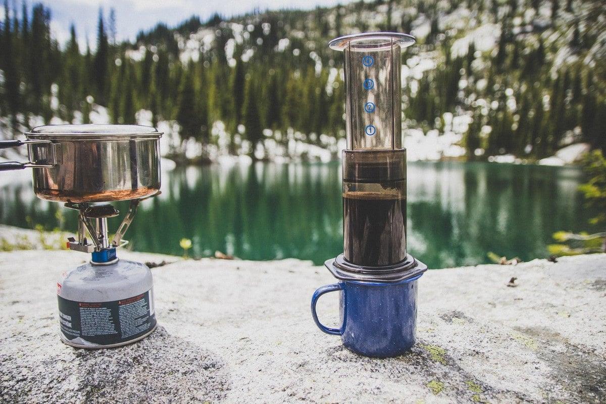 Aeropress kava na cesty