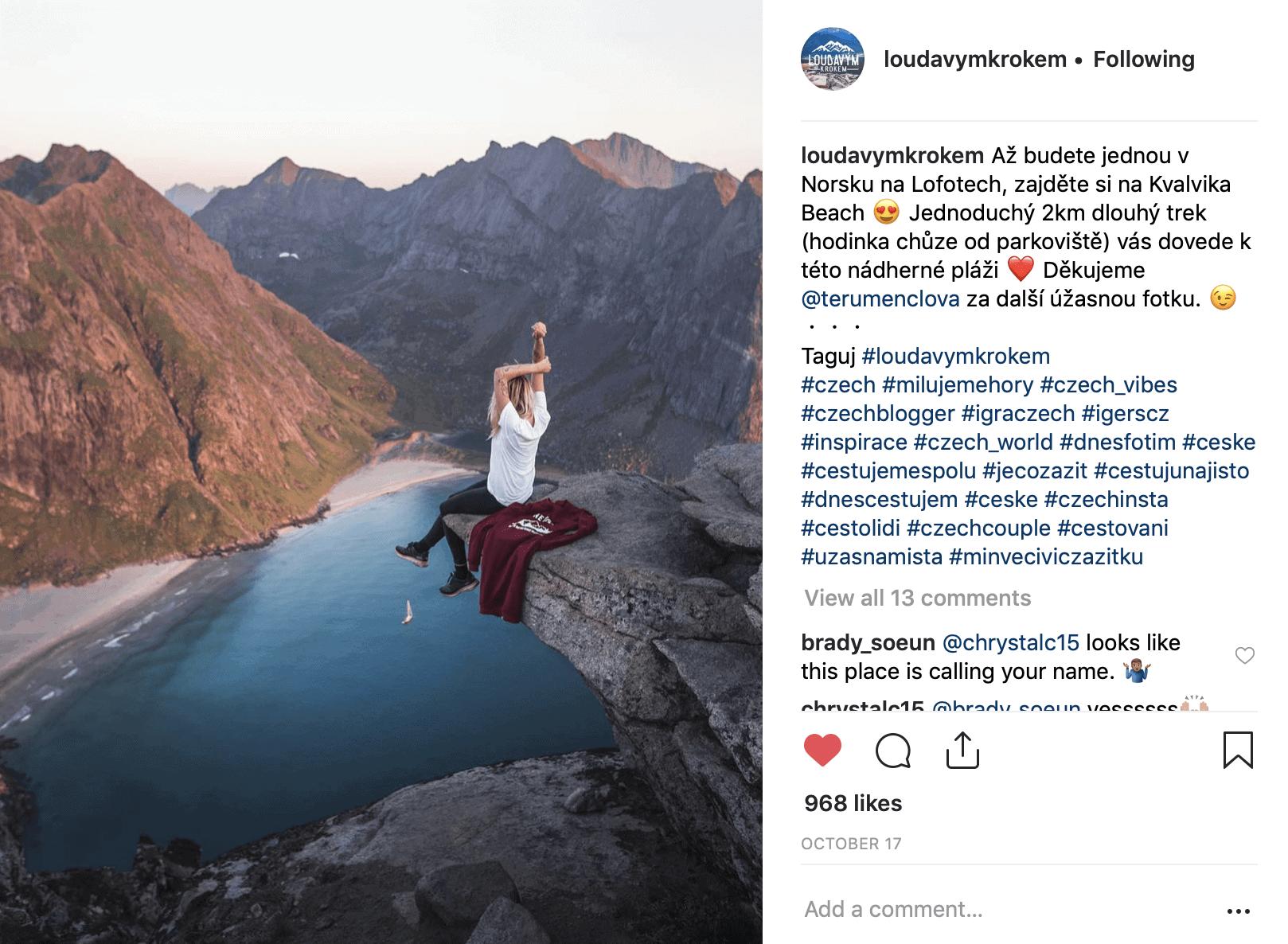 Instagram Loudavým Krokem