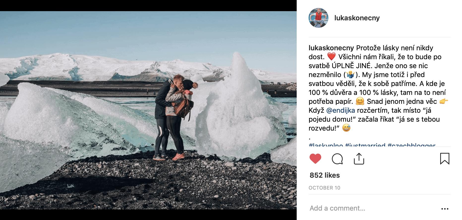 Lukáš Konečný Instagram