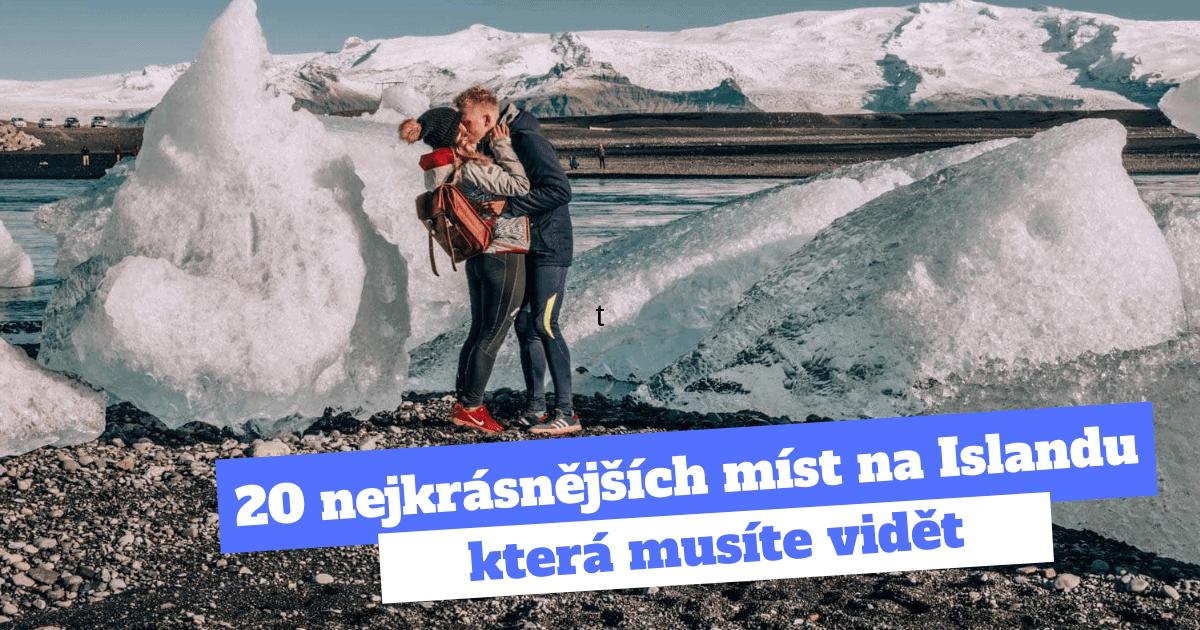 20 nejkrasnejsich mist na Islandu