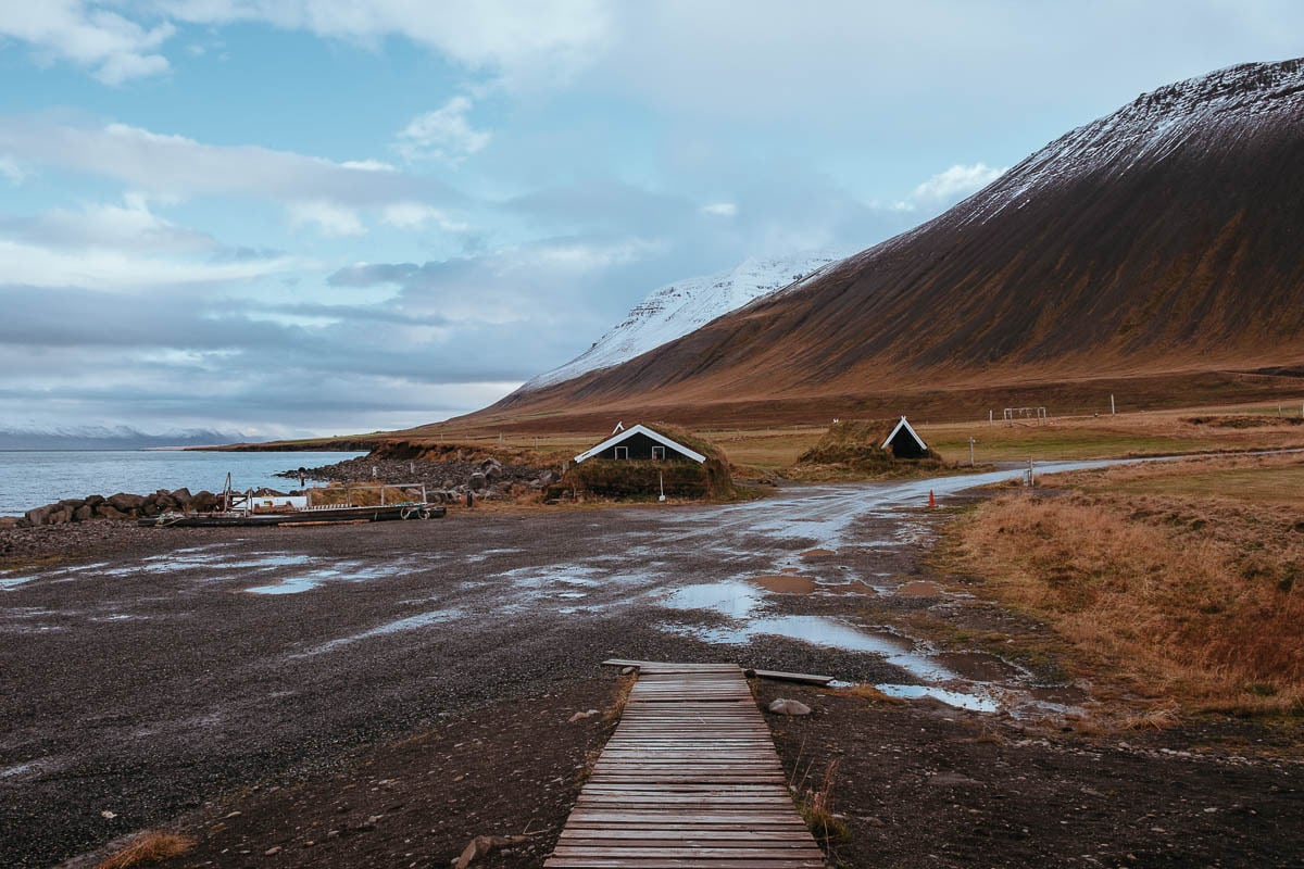 Výhled z Grettislaug