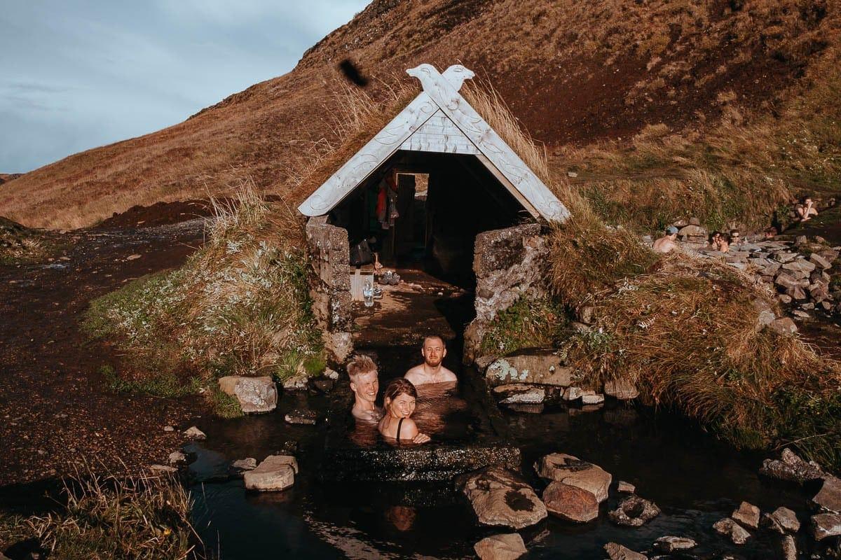 Hrunalaug hot springsr