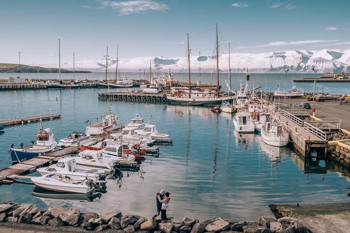 Husavik, město velryb