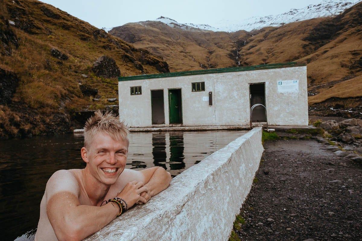 Termální jezírko každý den: Naše motto na Islandu