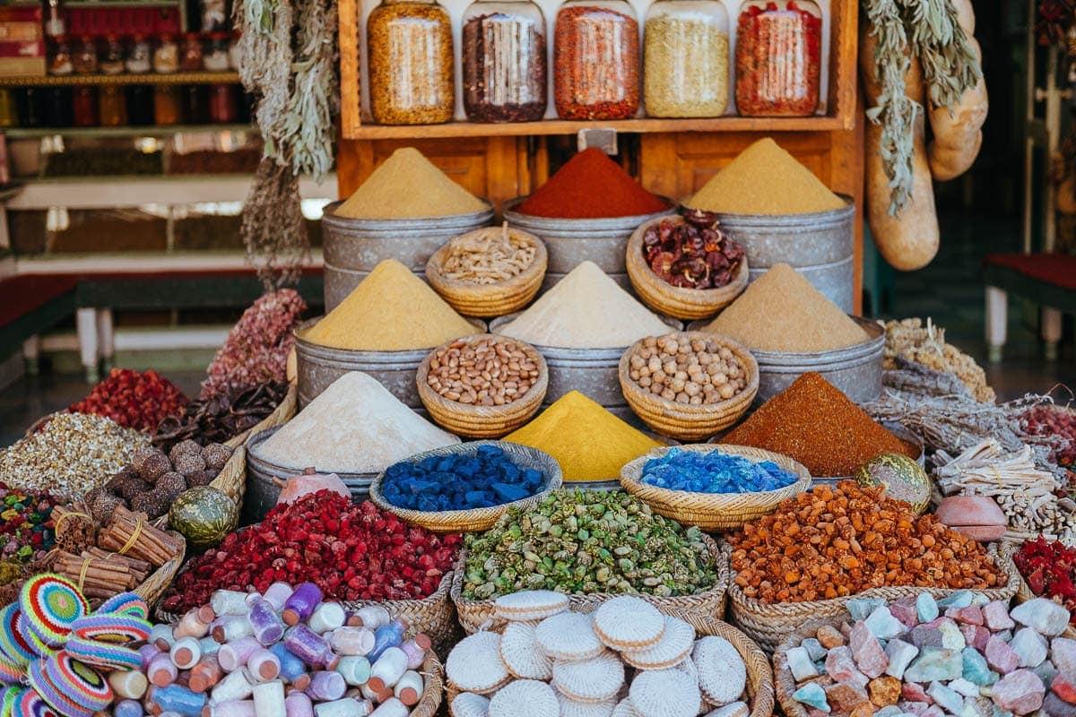 Try v Marrakeši