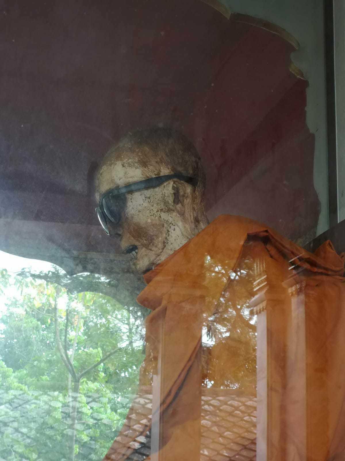 Mumifikovaný mních na Koh Samui