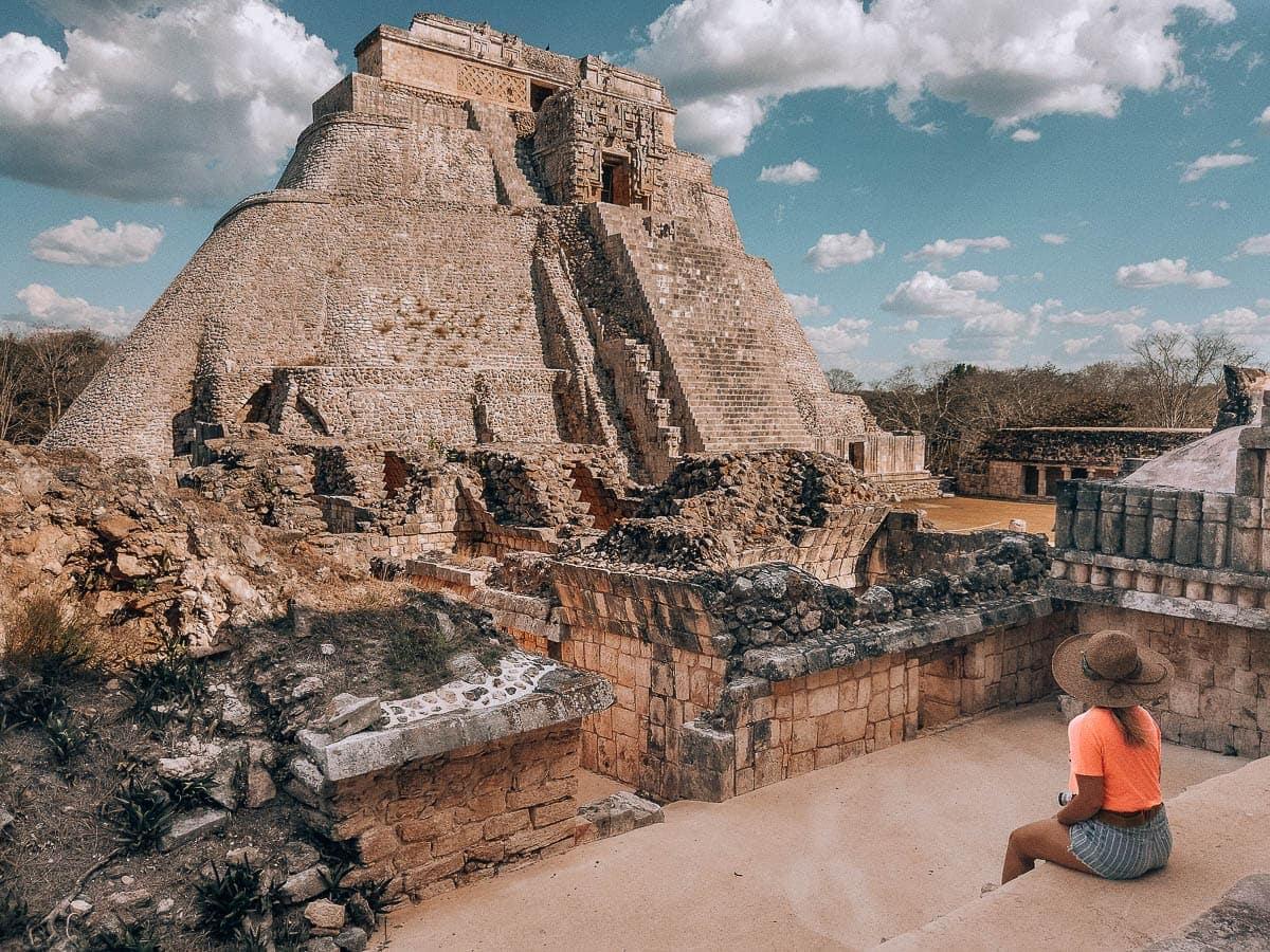 Dvě hodiny od Campeche je Uxmal
