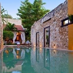 Hacienda Puertas ubytování v mexickém Campeche