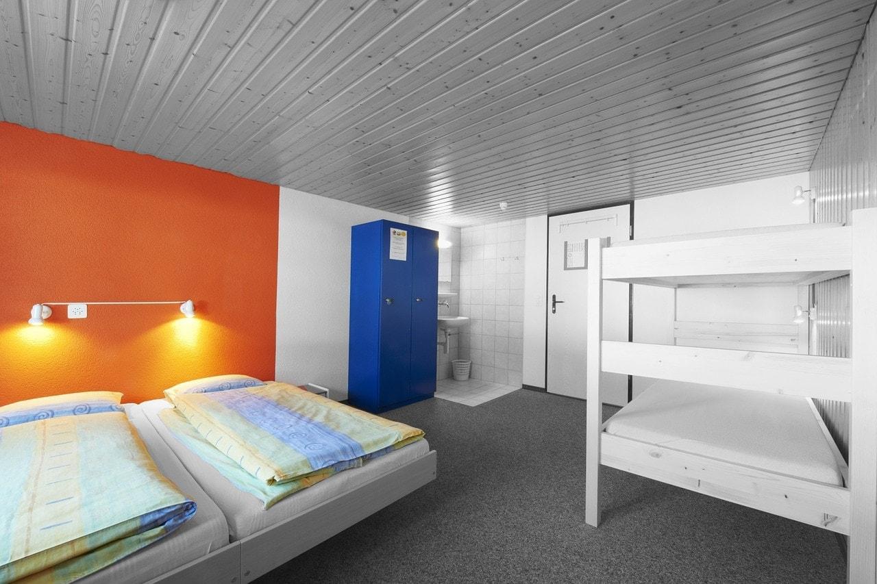 ubytování v hostelu