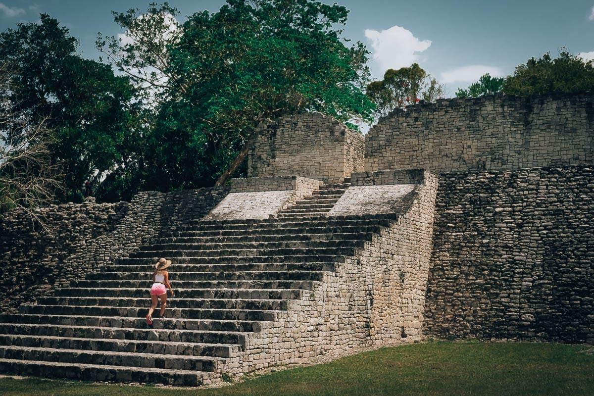 Mayské ruiny Kohunlich