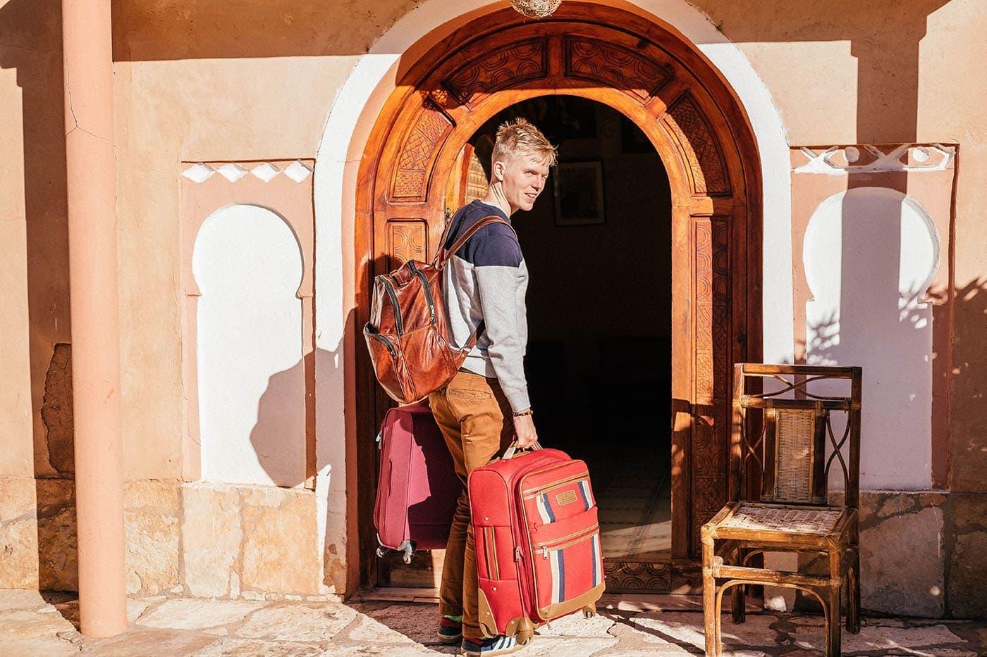 levný hotel v Maroku