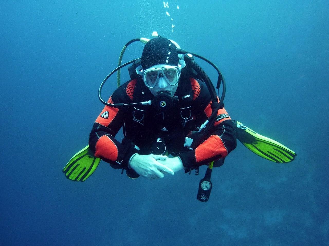 Potápění v Playa del Carmen