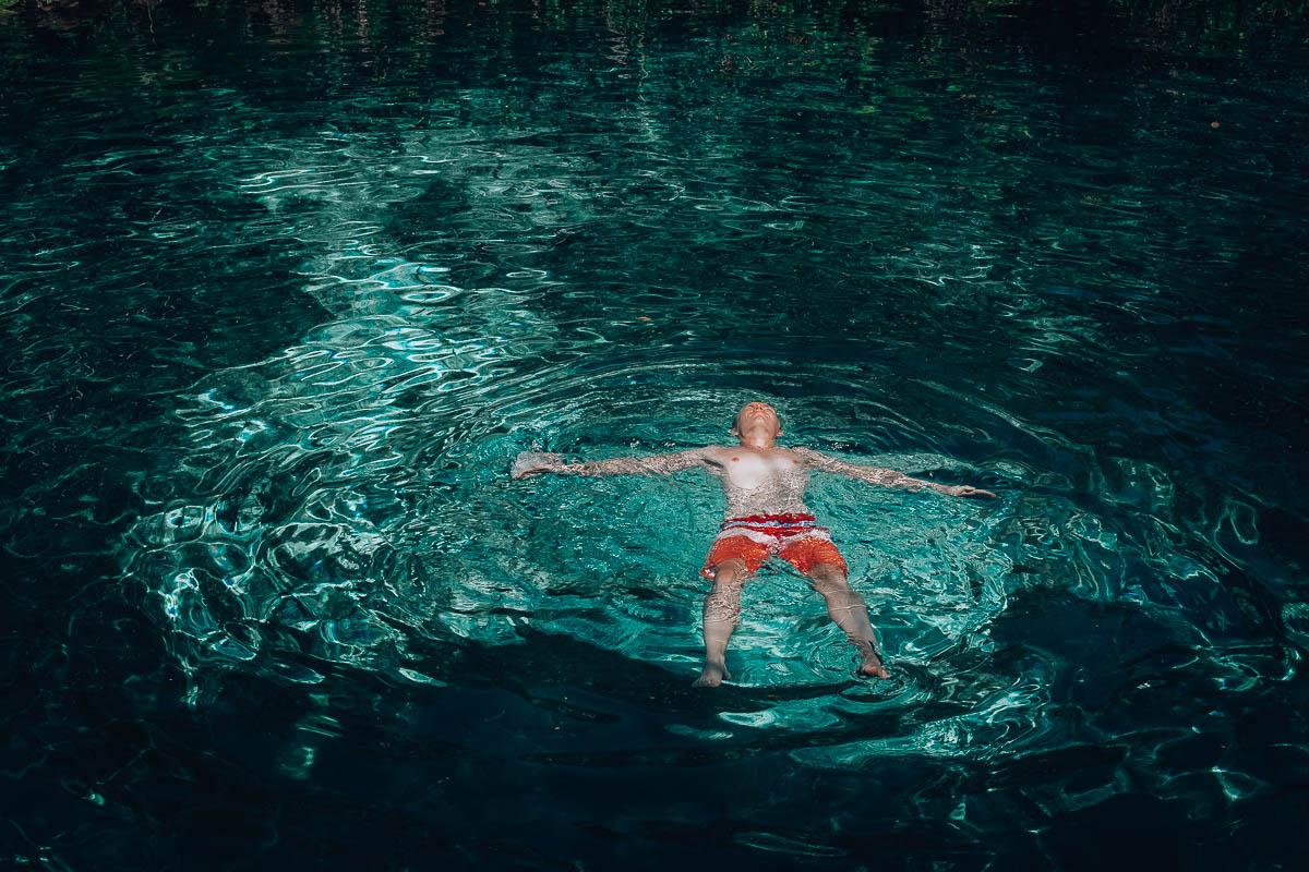 Yal-ku je nádherné přírodní akvárium kousek od Akumalu