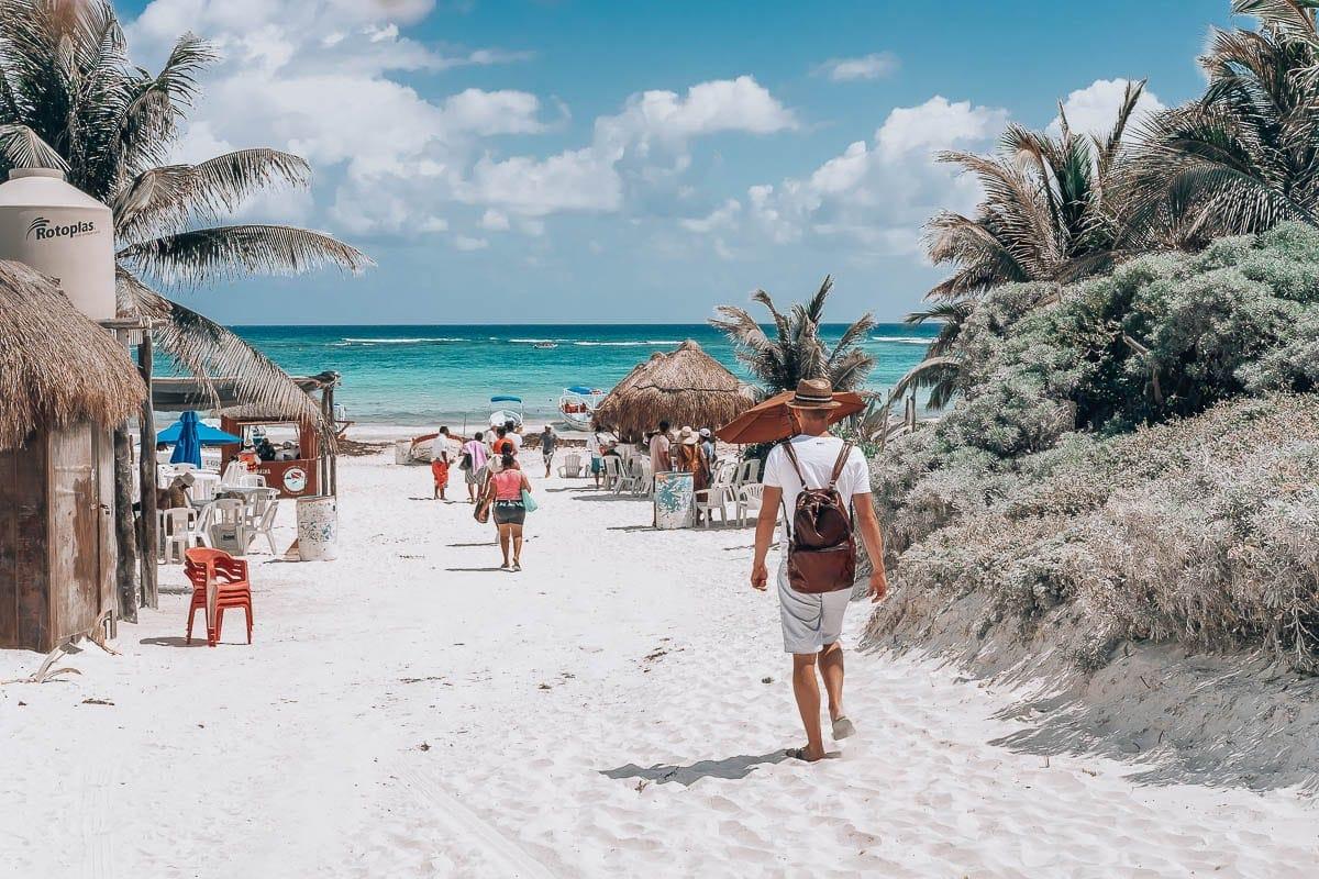 Nejkrásnější pláže v Tulumu