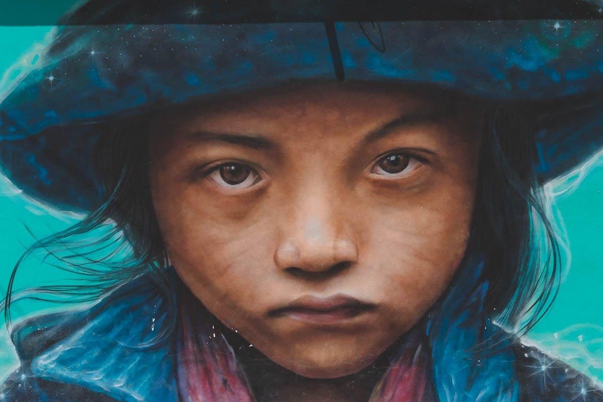 Street art na Holboxu