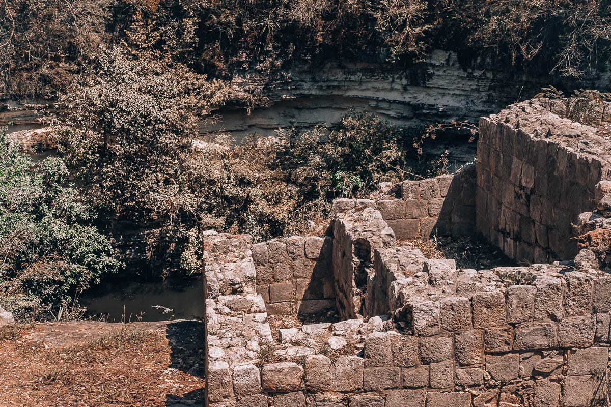 Studna obětování v Chichen Itza